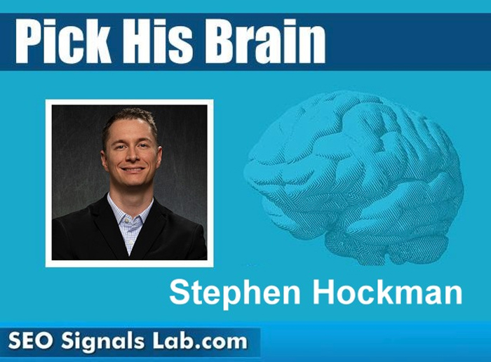 Pick His Brain with Stephen Hockman